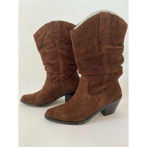 Dallas Suede Cowboy Boots